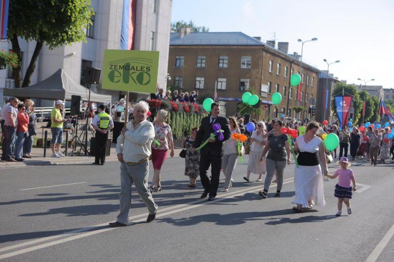 Jelgavas pilsētas svētku gājiens 2018